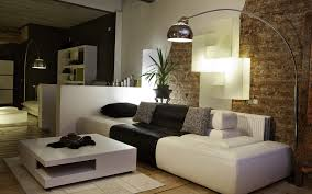Living Room Bench With Back Decoration Beautiful Modern Wall Design Ideas Rustic Brick Wall