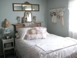 Charming Shabby Chic Bedrooms In Blue Bedroom With Walls And White ...