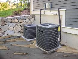 air conditioning outside unit. from time to time, you may notice your air conditioner leaking water outside. walking outdoors find a puddle of underneath ac\u0027s condenser unit conditioning outside l