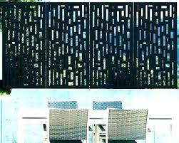 decorative screen panels garden screens privacy wall metal door nz