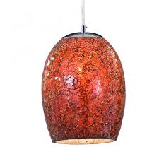 red pendant lighting. 8069re crackle 1 light ceiling pendant polished chrome red lighting
