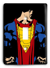 Superhero Light Switch Cover Shopping Superman Light Switch Covers Superman Homepage