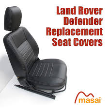 replacement seat covers for land rover defender 1998 to 2007 df8907fr df8907mid
