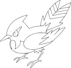 Pokemon Hawlucha Kleurplaten Coloring Pages Pokemon Goodra Drawings