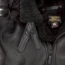 all black b 3 hooded sheepskin er jacket