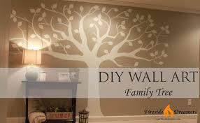 the rineharts diy family tree art