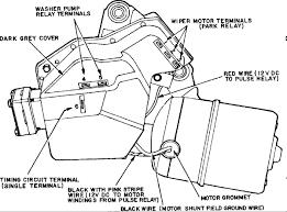windsheild wiper motor Wiper Motor Wiring Schematic Gm Wiper Motor Wiring Diagram #14