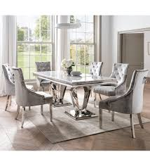 large solid marble dining table keens
