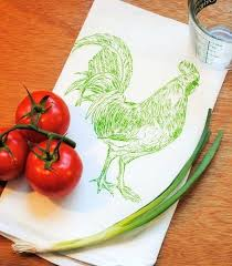 rooster kitchen towel kitchen towel cotton flour sack towel hand by kohls rooster kitchen towels rooster kitchen towel
