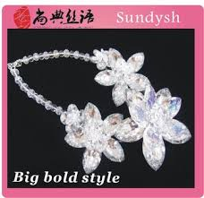 vine charms high quality bridal gl artificial new age fantasy raw fashion forever wedding flower bouquet