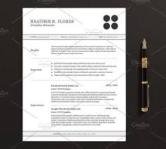Resume Template Pages Simple 48 Pages ResumeCV Template Full Set Resume Templates Creative Market