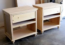 How to build a DIY nightstand bedside table