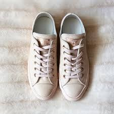 converse egret rose gold. rg:📷 feat our all star low leather in pastel rose tan gold. straight from bio. converse egret gold n