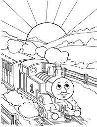 Thomas Train Coloring Sheet Thomas The Train Merry Christmas