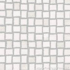 white silver mosaic tile vinyl flooring slip resistant lino 3m cushion floor
