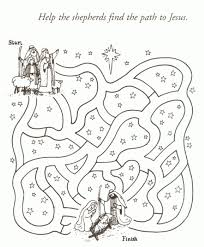 Christian Christmas Coloring Pages Color Bros