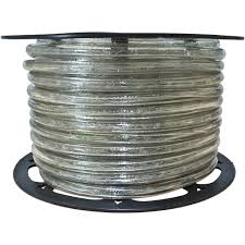 3 8 Incandescent Rope Light Clear Incandescent Rope Light 120 Volt 1 2 Inch 148 Feet