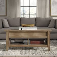 Each wood type has a unique grain pattern. Greyleigh Riddleville Lift Top Extendable Coffee Table With Storage Reviews Wayfair