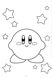 Small Picture cute Kirby coloring pages Video Game Coloring Pages Pinterest