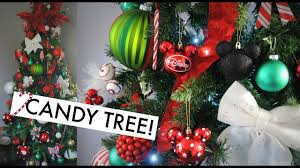 Candy Cane Decorations For Christmas Trees Decorate with me Candy Cane Christmas Tree YouTube 39