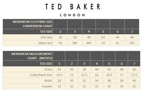 Ted Baker Swim Size Chart Ted Baker Frog Short Sleeve Flat Knit Polynosic Polo