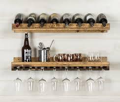 wine rack. Kemmerer 2 Piece 8 Bottle Wall Mounted Wine Rack Set