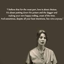 Grey's Anatomy Love Quotes Simple 48 Meredith Grey Quotes To Live By