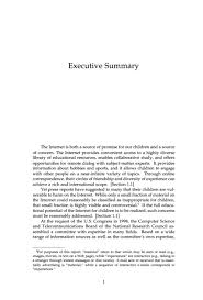 executive summary of books executive summary youth pornography and the internet