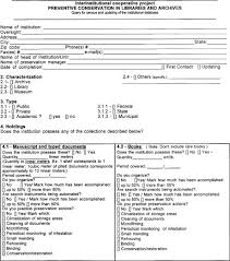 appendix ii institutional database questionnaire • clir