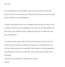Apartment Noise Complaint Letter Sample Manatelangana Info