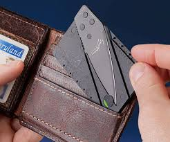 <b>Credit Card</b> Sized <b>Folding</b> Knife