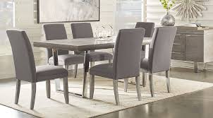 gray dining table. Cindy Crawford Home San Francisco Gray 5 Pc Dining Room - Sets Colors Table Rooms To Go