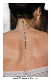 Spine Tattoos Quotes Unique Tattoo Quotes Down Spine 48