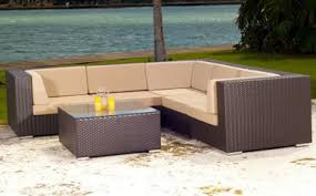 Source outdoor furniture Delano Source Outdoor Sectional Sets Wickercom Source Outdoor Wicker Furniture Wickercom
