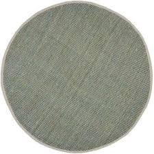 natural fiber gray 7 ft x 7 ft round area rug