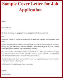 Best Sample Cover Letter For Applying Job 91 In Good Cover Letter with Sample Cover Letter For Applying Job