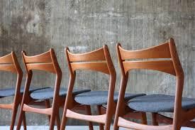4 Teak Esszimmerstühle Stilraumberlin Dänische Design