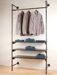 pipe clothing rack. Perfect Pipe Urban Pipe Clothing Rack Outriggers On L