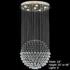 contemporary crystal chandeliers  furniture ideas