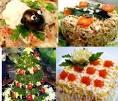 Новогодние рецепты 2016 салаты с фото
