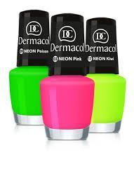 Dermacol Neon Nail Polish Neonové Laky Na Nehty 5 Ml