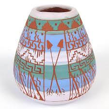 Navajo pottery designs Animated Click To Expand Invaluable Native American Navajo Ella Cadman Signed Pottery Vase Arizona