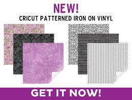 Patterned Iron On Vinyl Custom Cricut Patterned Iron On Tutorial Printable Crush