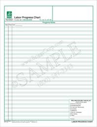 Chart Progress Labor Progress Chart
