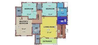 three bedroom house plan