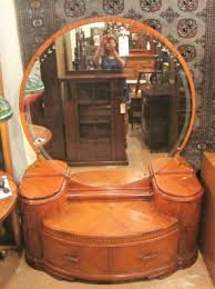art deco furniture restoration. art deco waterfall vanity furniture restoration f