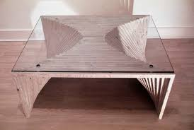 Modern and Unique Table in Layers Design