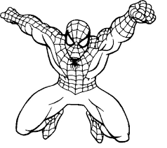 Spiderman And Batman Coloring Pages - FunyColoring
