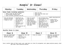 Weekly Household Chores Weekly House Chores Rome Fontanacountryinn Com
