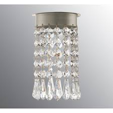 crystal chandelier for opus 120 beads drop brilliant cut by ifö electric